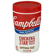 Campbell's Soup On The Go Chicken and Stars Soup