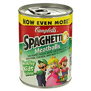 Campbell's SpaghettiOs Meatballs Super Mario