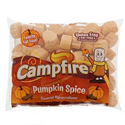 Campfire Flavored Marshmallows, Pumpkin Spice