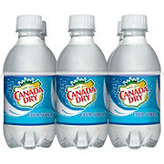 Canada Dry Club Soda 10 oz Bottles