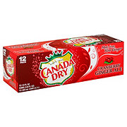 Canada Dry Cranberry Ginger Ale 12 oz Cans