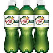 Canada Dry Diet Ginger Ale 16.9 oz Bottles