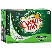 Canada Dry Ginger Ale 12 oz Cans