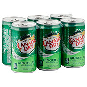 Canada Dry Ginger Ale 7.5 oz Cans