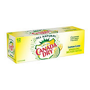Canada Dry Lemon Lime Sparkling Seltzer Water 12 PK Cans