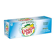 Canada Dry Original Sparkling Seltzer Water 12 PK Cans