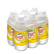 Canada Dry Tonic Water 10 oz Glass Bottles