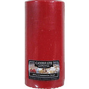 Candle-Lite Apple Cinnamon Crisp Scented Pillar