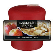 Candle-Lite Apple Cinnamon Crisp Scented Votive