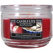 Candle-Lite Apple Cinnamon Crisp Scented  Wick Candle