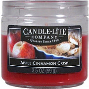 Candle-Lite Cinnamon Apple Crisp Toddler Jar Candle