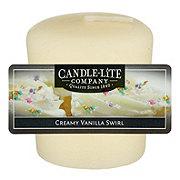 Candle-Lite Creamy Vanilla Swirl Scented Votive