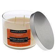Candle-Lite Essential Elements Blood Orange And Teakwood