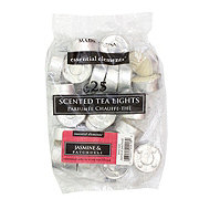 Candle-Lite Essential Elements Scented Tea Lights, Jasmine & Patchouli