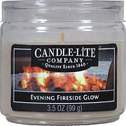 Candle-Lite Evening Fireside Glow Toddler Jar Candle