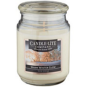 Candle-Lite Everyday Essentials Candle Jar Holiday Warm Winter Glow