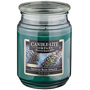 Candle-Lite Everyday Essentials Frosted Blue Spruce
