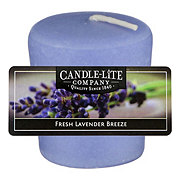 Candle-Lite Fresh Lavender Breeze Scented Votive