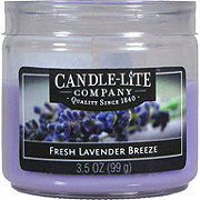 Candle-Lite Fresh Lavender Breeze Toddler Jar Candle