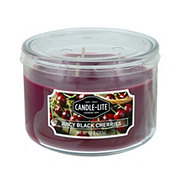 Candle-Lite Juicy Black Cherries Scented  Wick Candle