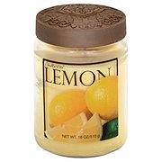 Candle-Lite Lemon Scented Jar Candle