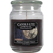 Candle-Lite Moonlit Starry Night Scented Terrace Jar Candle
