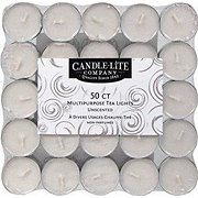 Candle-Lite Multipurpose Unscented Tea Lights