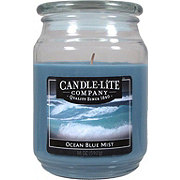 Candle-Lite Ocean Blue Mist Scented Terrace Jar Candle