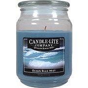 Candle-Lite Ocean Blue Mist Scented Terrace Jar Candle