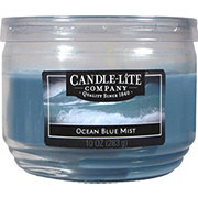 Candle-Lite Ocean Blue Mist Scented  Wick Candle