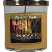 Candle-Lite Royale Classics Golden Woods Scented Candle