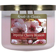 Candle-Lite Royale ClassicsWick Imperial Cherry Blossom Candle with Metal Lid