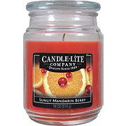 Candle-Lite Sunlit Mandarin Berry Scented Terrace Jar Candle