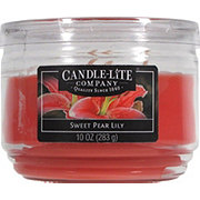 Candle-Lite Sweet Pear Lily Scented  Wick Candle