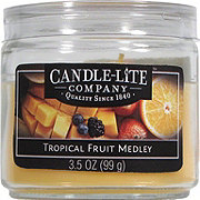 Candle-Lite Tropical Fruit Medley Toddler Jar Candle