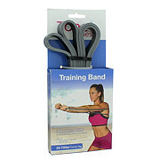 CAP Tone Fitness Training Bands, 20 to 70 LBS