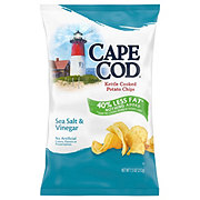 Cape Cod Kettle Cooked Sea Salt and Vinegar Potato Chips