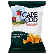 Cape Cod Kettle Cooked Sweet & Spicy Jalapeno Potato Chips