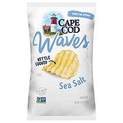 Cape Cod Kettle Cooked Waves Sea Salt Potato Chips