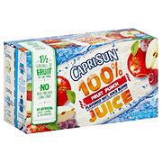 Capri Sun 100% Juice Fruit Punch Flavored Juice Blend 6 oz Pouches