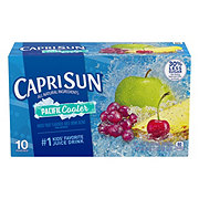 Capri Sun All Natural Ingredients Pacific Cooler Mixed Fruit Flavored Juice Drink Blend 6 oz Pouches