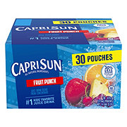 Capri Sun Fruit Punch Juice Drink Blend Value Pack 30 PK