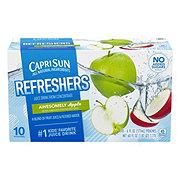 Capri Sun Fruit Refreshers Awesomely Apple Juice Drink Blend