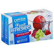 Capri Sun Fruit Refreshers Very Berry Punch Juice Drink Blend