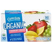 Capri Sun Organic Strawberry Lemonade