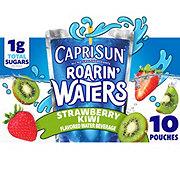 Capri Sun Roarin' Waters Strawberry Kiwi Flavored Water Beverage 6 oz Pouches