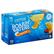 Capri Sun Roarin' Waters Tropical Fruit Flavored Water Beverage 6 oz Pouches