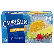 Capri Sun Tropical Punch Juice Drink Blend 6 oz Pouches