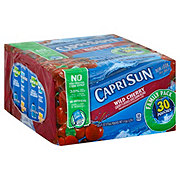 Capri Sun Wild Cherry Juice Drink Blend Value Pack 30 PK