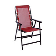 Terrific Caravan Burgandy Folding Bungee Chair Shop Chairs Download Free Architecture Designs Rallybritishbridgeorg